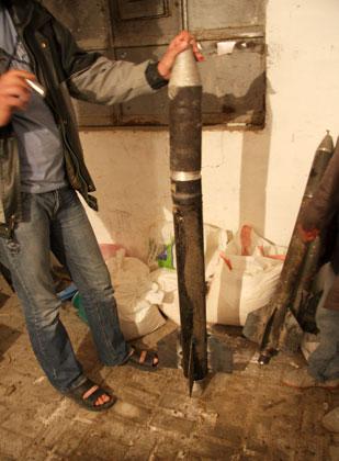 کارگاه ساخت موشک غزه