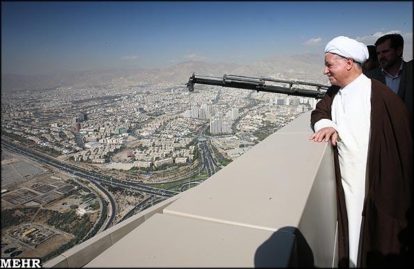 تصاویری از داخل برج میلاد تهران