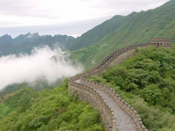دیوار چین از عجایب هفتگانه