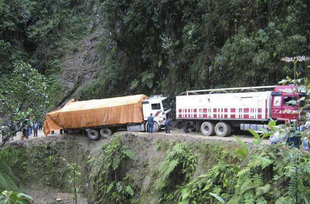 جاده مرگ، خطرناک ترین جاده جهان 164316 676