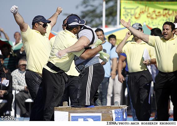 مسابقات قویترین مردان جهان (تصویری) .