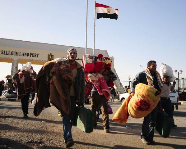 گذرگاه مصر و لیبی