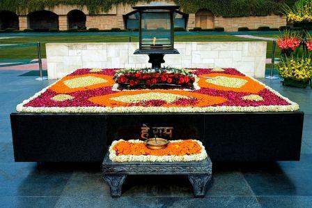 مقبره مهاتما گاندی(عکس)
