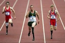 سریعترین دونده بدون پای جهان