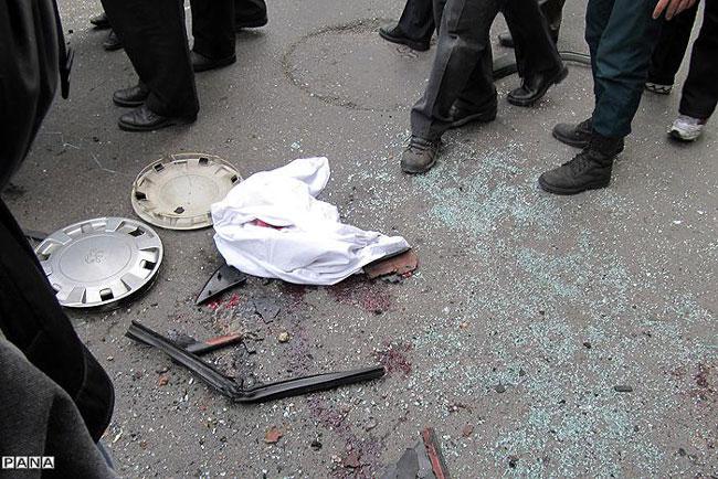 انفجار تروریستی در تهران