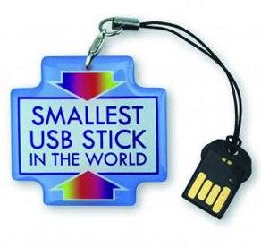 کوچکترین فلش مموری جهان