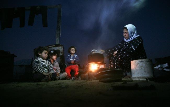 خانواده فلسطینی