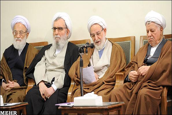 دیدار اعضاء مجلس خبرگان با رهبر انقلاب