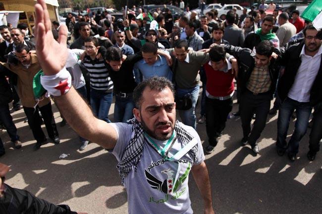 حامیان حکومت سوریه