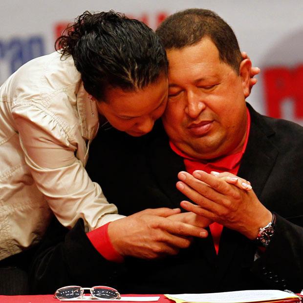 چاوز و دخترش