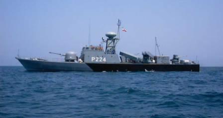 نیروی دریایی ارتش - خلیج فارس