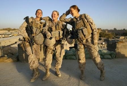 عکسهای کمیاب و جالب سربازان زن امریکا