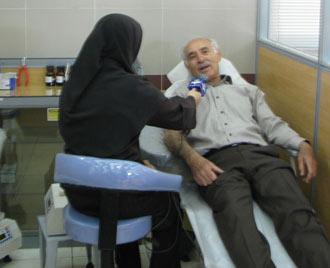 پدر اهداي خون ايران