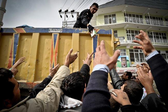 زلزله زدگان ترکیه