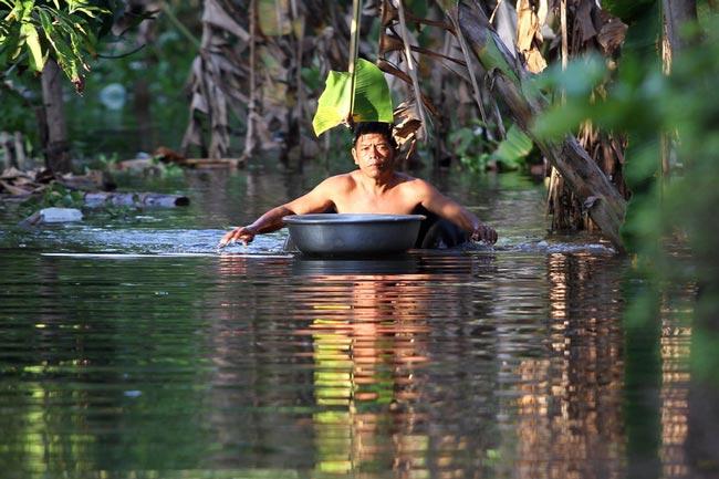 سیلاب در کامبوج