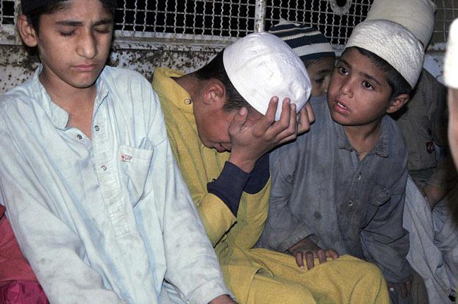 دانش آموزان پاكستاني