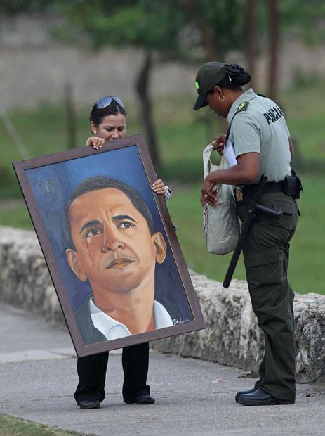 هدیه ای برای اوباما