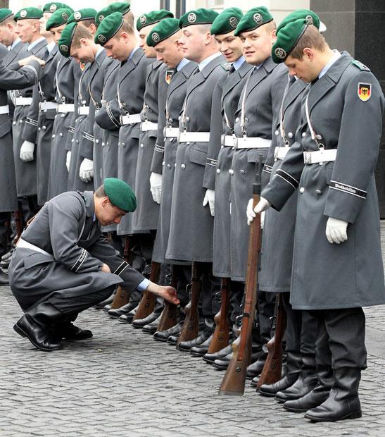 گارد احترام ارتش آلمان
