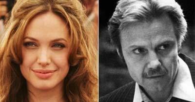 «جان ویت» و دخترش «آنجلینا جولی»