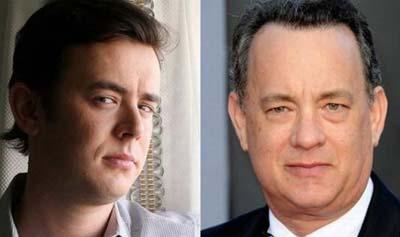 «تام هنکس» و پسرش «کالین هنکس»