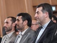 احمدی نژاد و حلقه اول اطرافیان