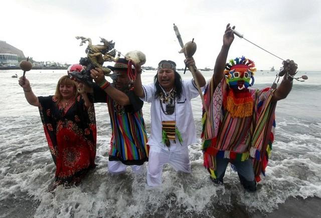 دعای شیمن های پرو