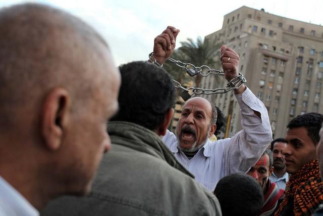تظاهرات علیه قانون اساسی در مصر