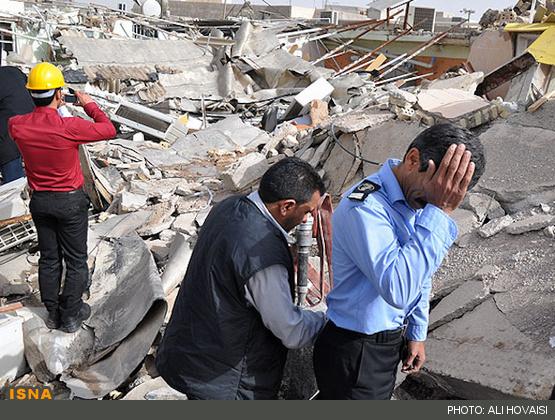 تصاویر از حادثه امروز اهواز
