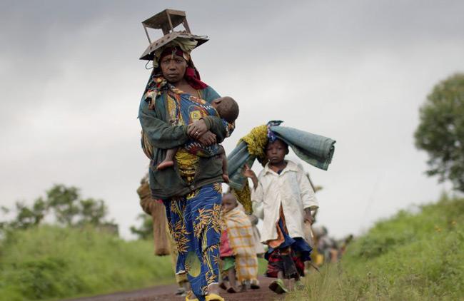 خانواده آواره کنگویی
