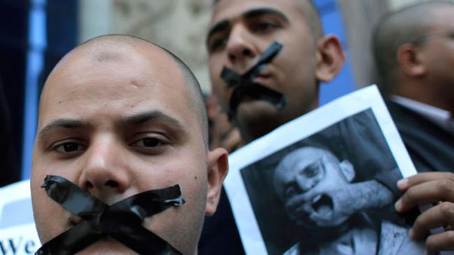 روزنامه نگاران مصری