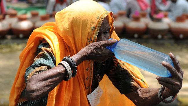 پیرزن هندی