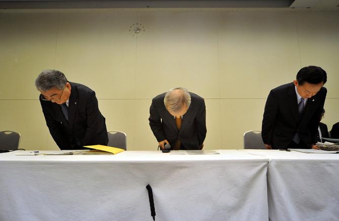 تعظیم مدیران ژاپنی