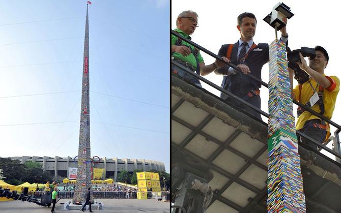 بلندترین برج لگویی جهان