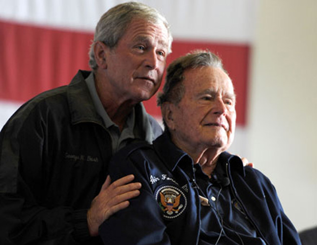 بوش پدر و پسر