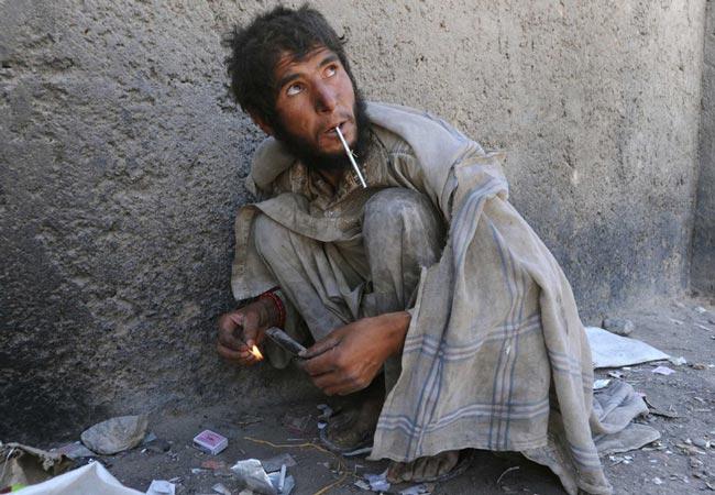 افغانی معتاد