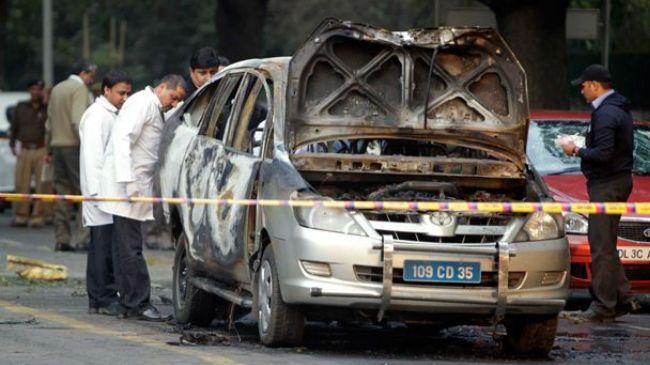 حمله به دیپلمات های اسرائیلی در دهلی