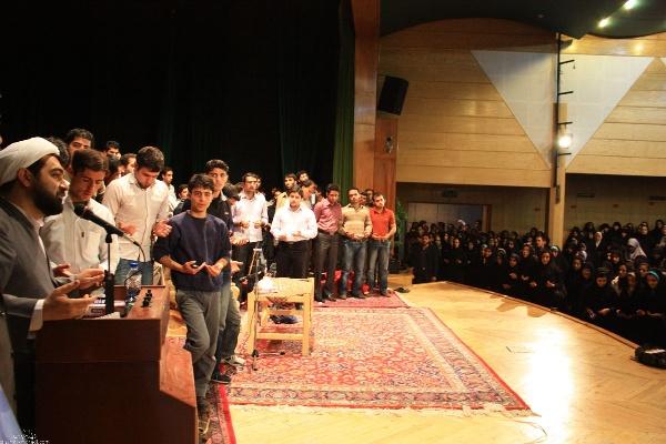 حجه الاسلام شهاب مرادی در جمع جوانان