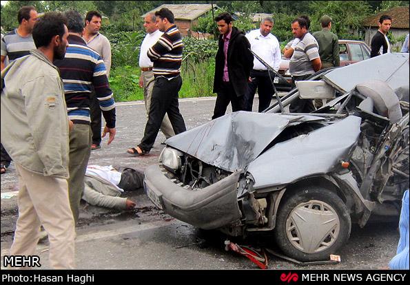 عکس تصادفات جاده چالوس
