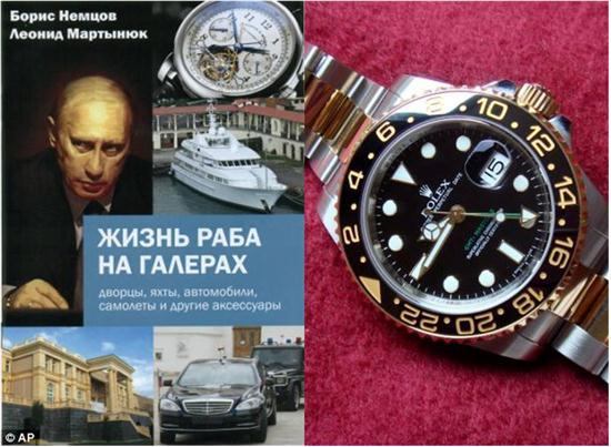 اموال پوتین منشتر شد + فهرست دارایی ها