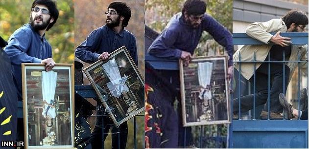 روایت جالب یکی از حمله کنندگان به سفارت انگلیس / چرا این سری راحت وارد سفارت شدیم؟! + عکس