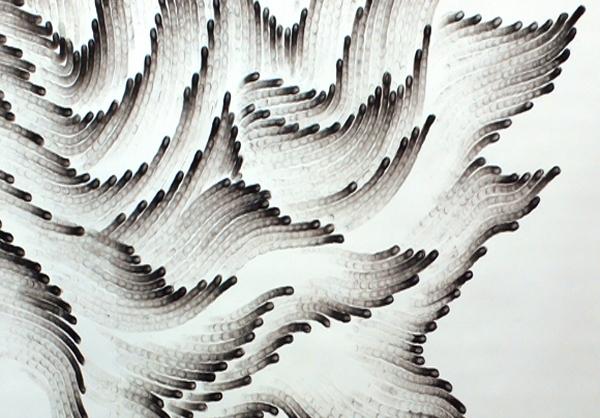 عکس نقاشی با ذغال