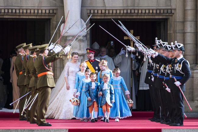 ازدواج ولیعهد لوکزامبورگ