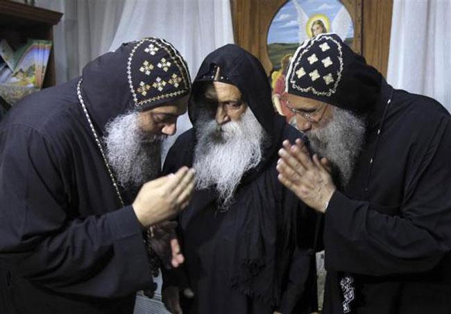 اسقف های قبطی مصر