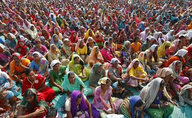 هواداران حزب حاکم کنگره هند