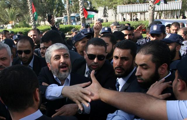 سفر خالد مشعل به غزه