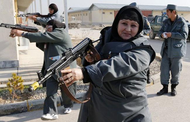 زنان پلیس افغان