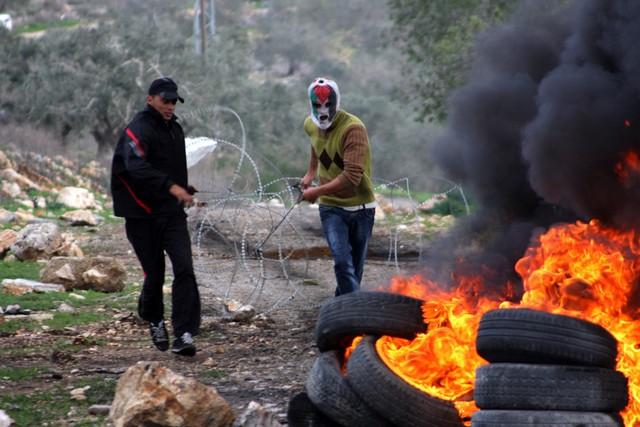 تظاهرات هفتگی فلسطینیان