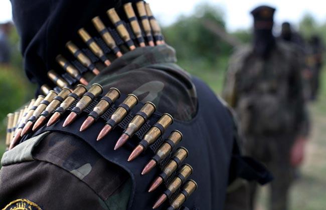 مانور نظامیان حماس در غزه