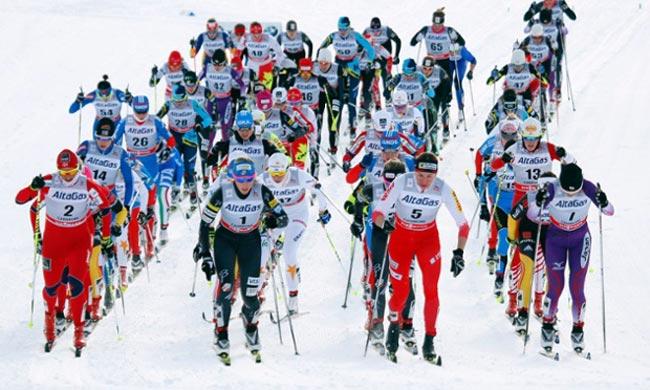اسکی استقامت زنان