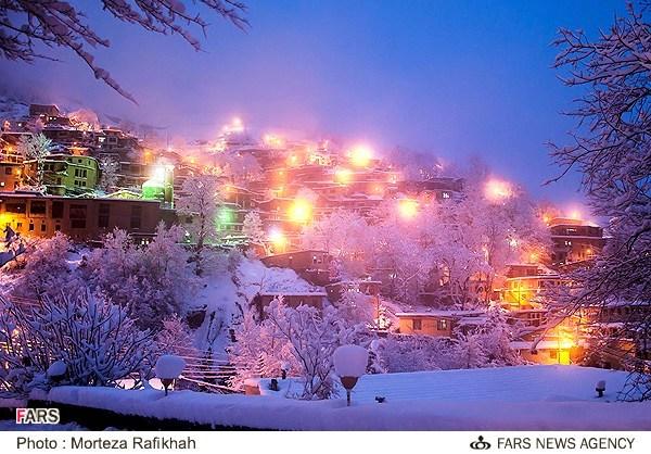 Image result for ماسوله در زمستان